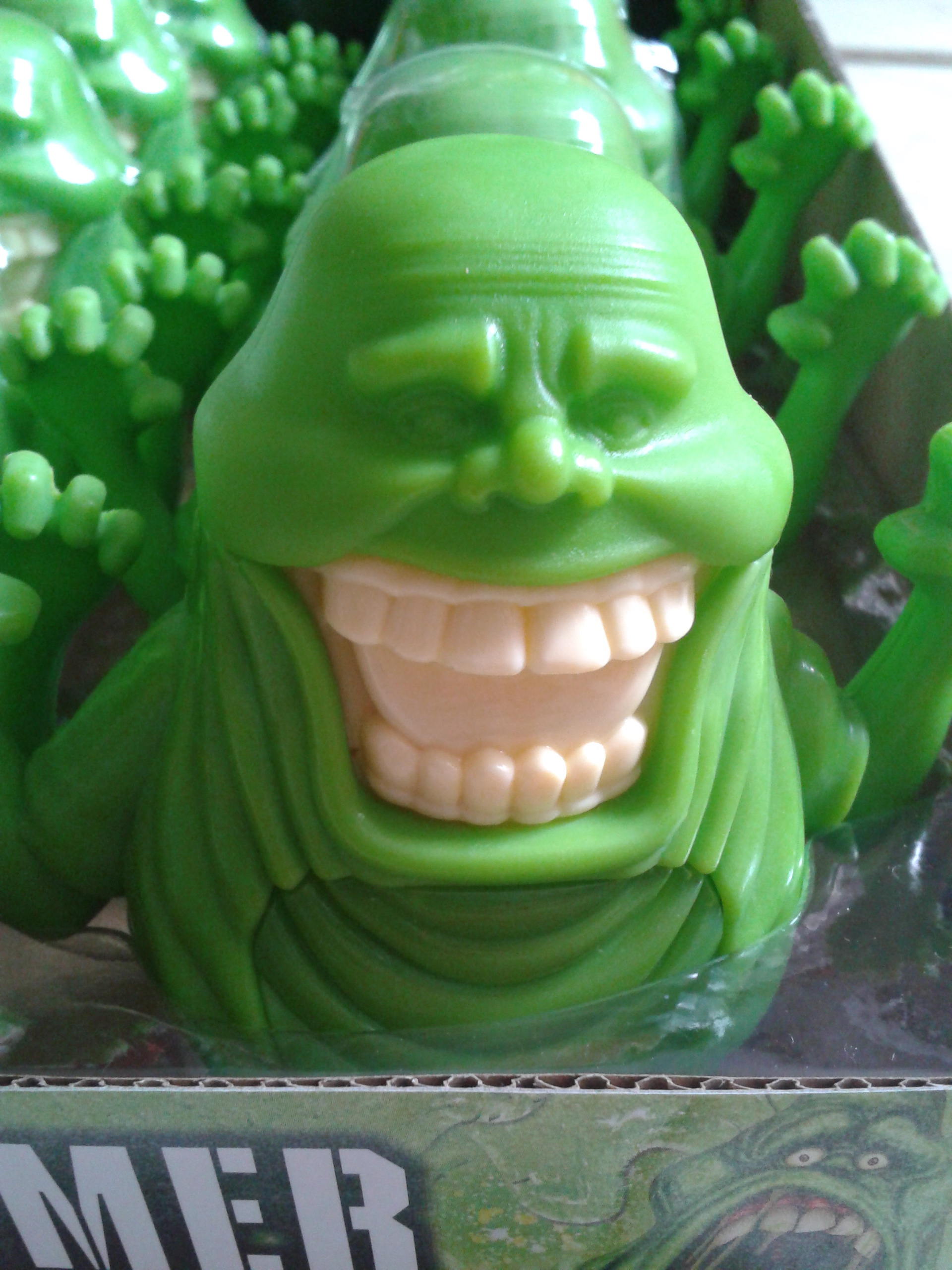 Ghostbusters Slimer Edible Ectoplasm - Candy Head Review