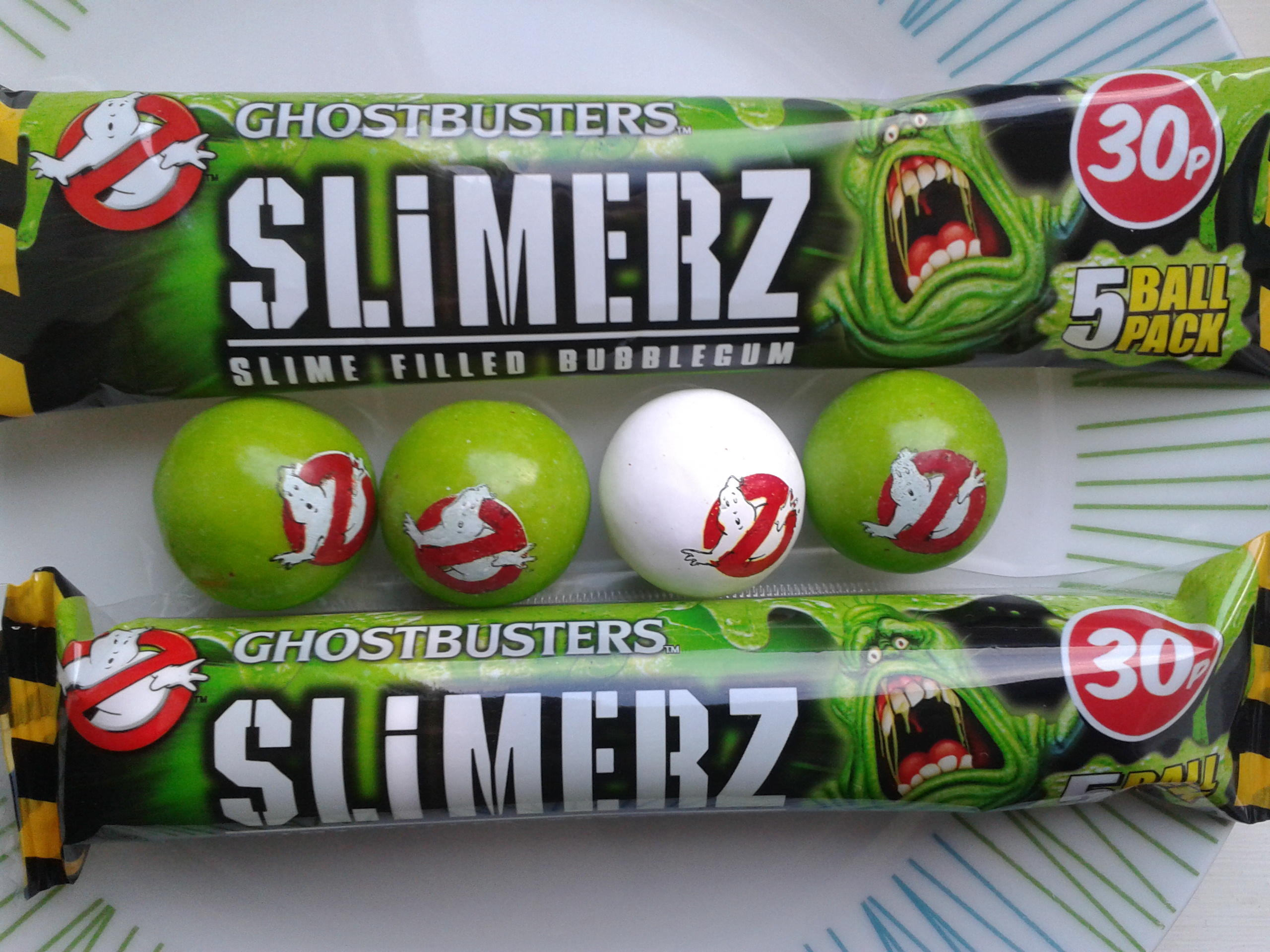 Ghostbusters Slimerz Bubblegum Pack Review - Halloween Love