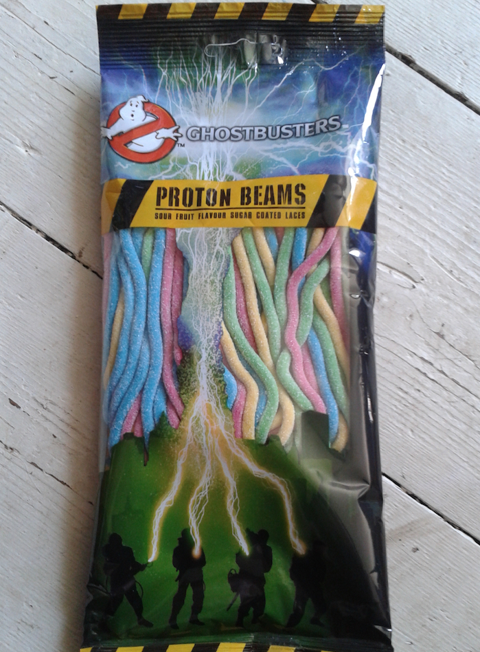 Ghostbusters Sour Proton Beams UK Candy