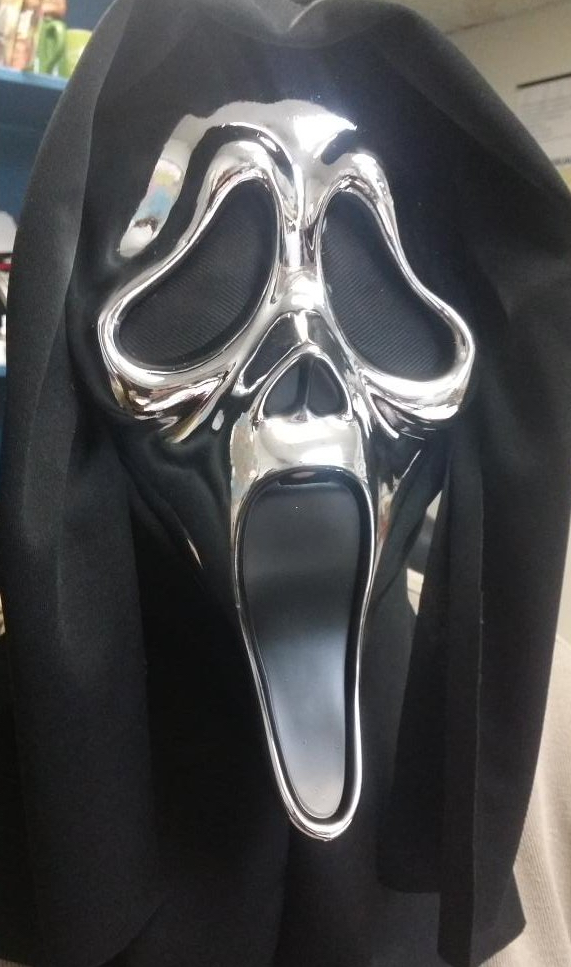 Special Edition Ghostface Chrome Mask 2016