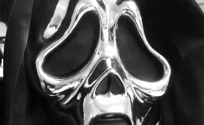 Ghostface Chrome Anniversary Mask 2016 - Halloween Love