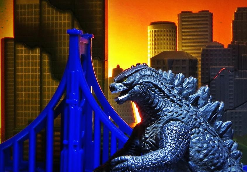 Godzilla Photography