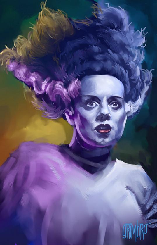 Grimbro Bride Of Frankenstein