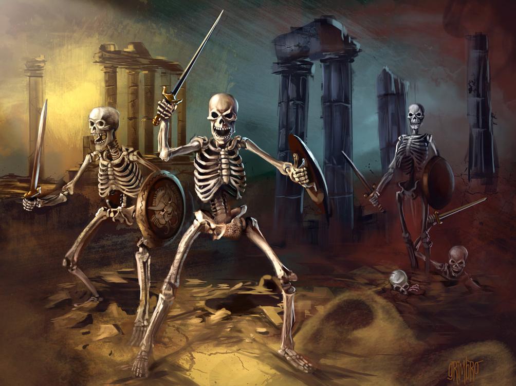 Grimbro Skeleton Army