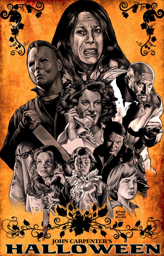 Alternative Poster Art : Halloween Nathan Thomas Milliner