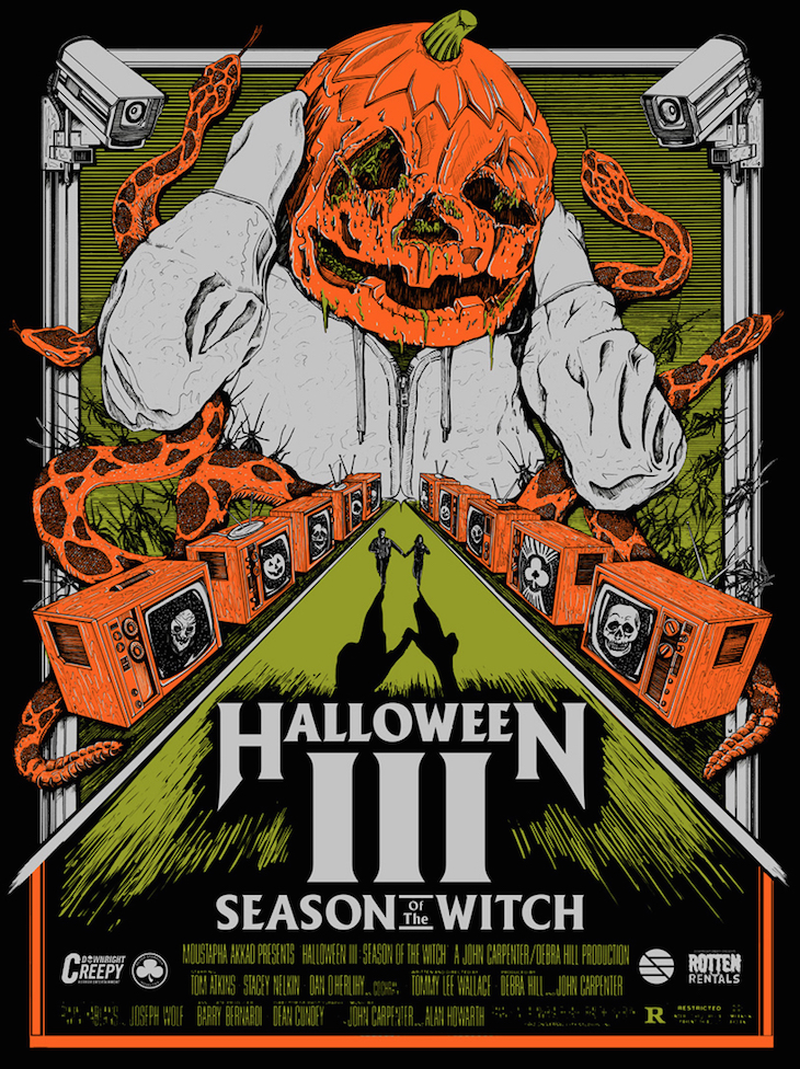 Poster Art : Halloween 3 Brandon Duncan