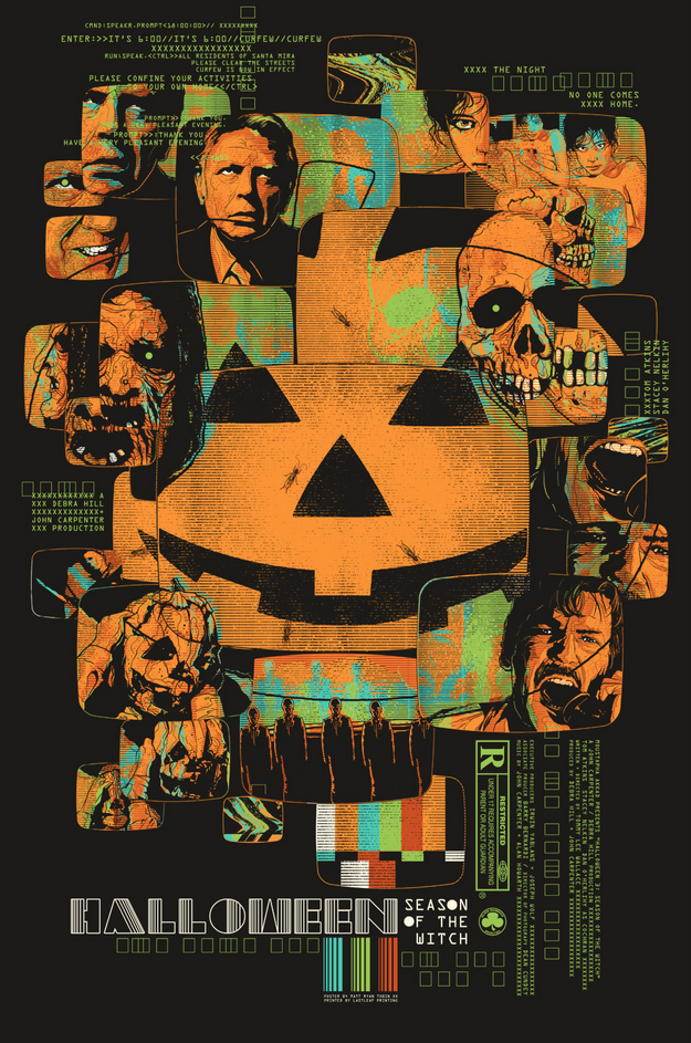 Poster Art : Halloween 3 Matt Ryan Tobin