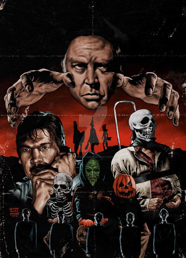 Poster Art : Halloween 3 Nathan Thomas Milliner