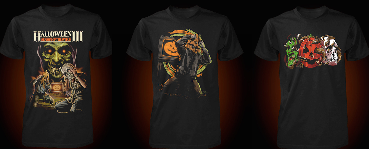 Halloween 3 T-Shirt Designs. Fright-Rags 1