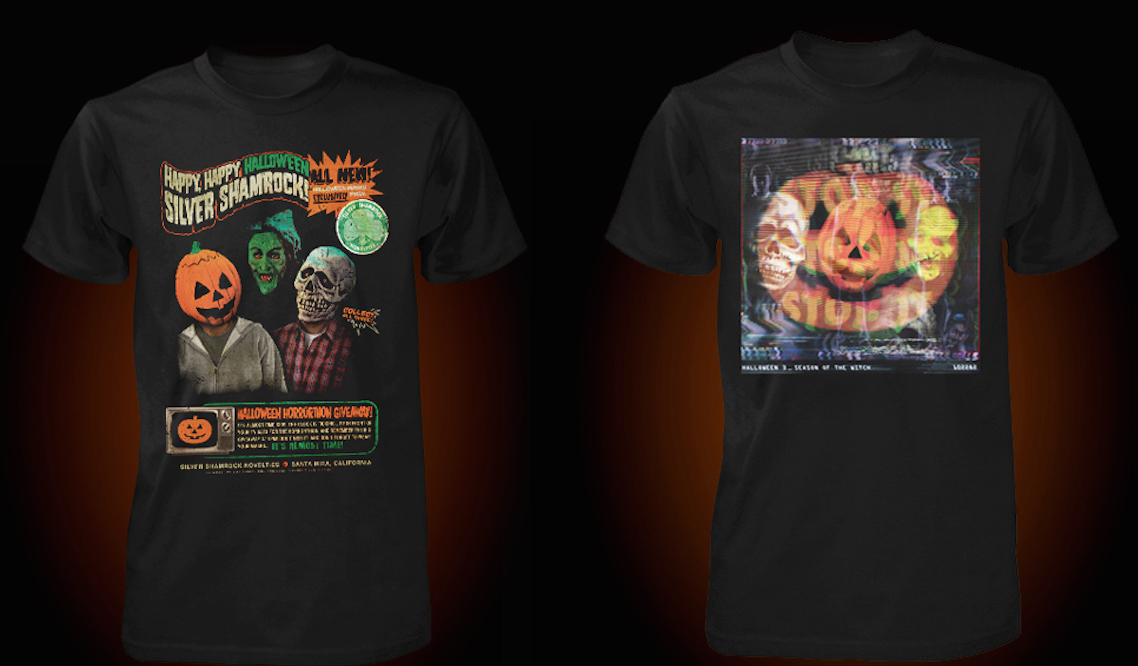 Halloween 3 T-Shirt Designs. Fright-Rags 2