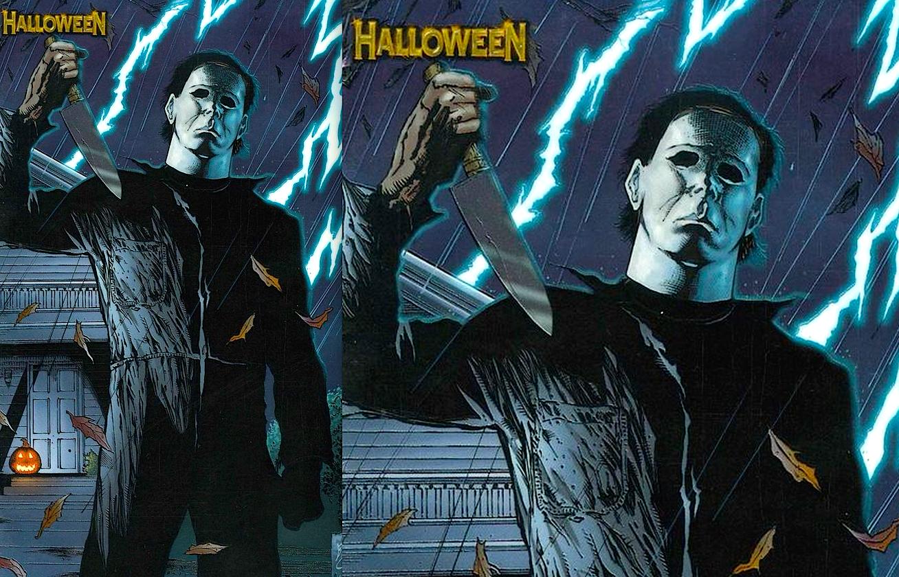 Halloween 1 : Chromium Premium Variant Cover