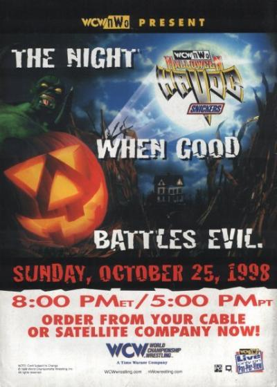 WCW Halloween Havoc: Ranking the Wrestling Event's Posters ...