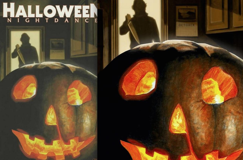 Halloween Nightdance 1 : Glowing Previews Variant
