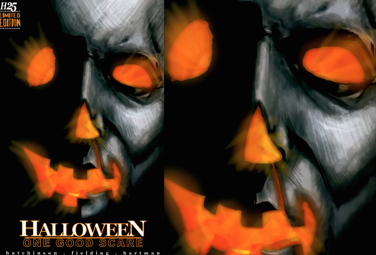 Halloween One Good Scare : Cover Artwork