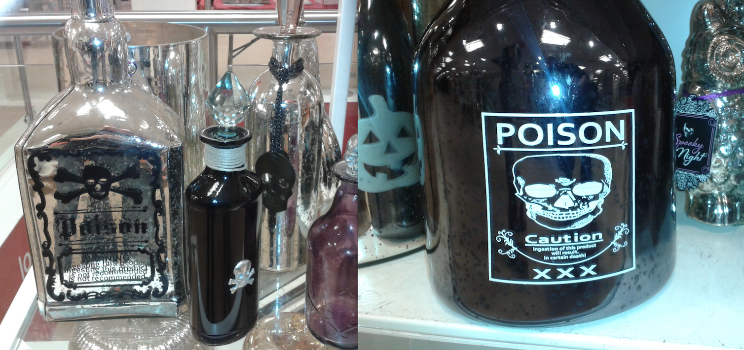 Halloween Poison Bottles 2015
