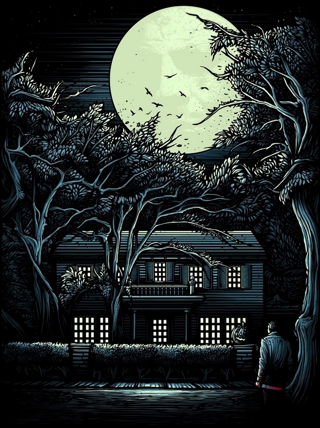 Alternative Poster Art : Halloween Dan Mumford