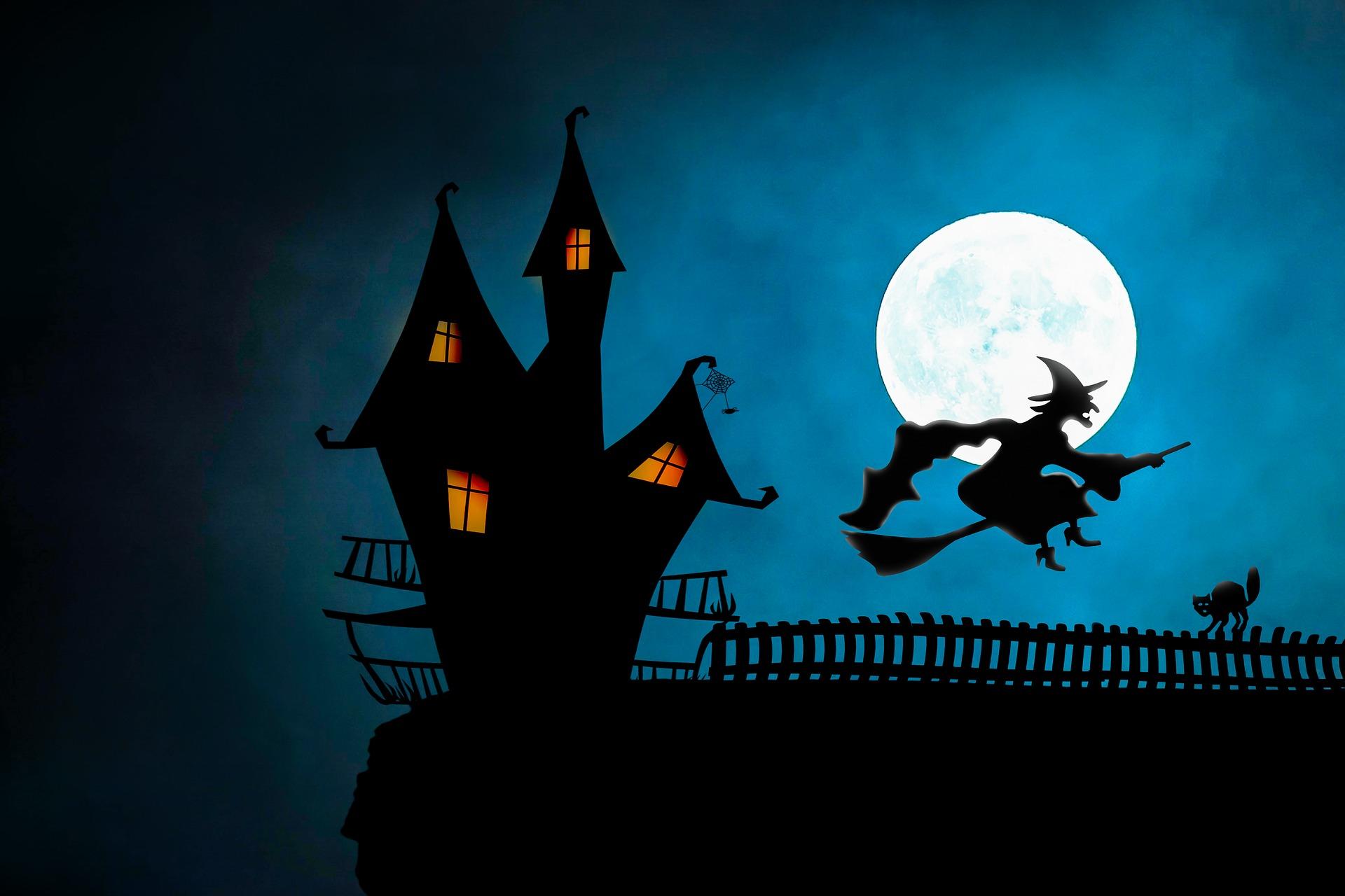 Halloween Witch Art
