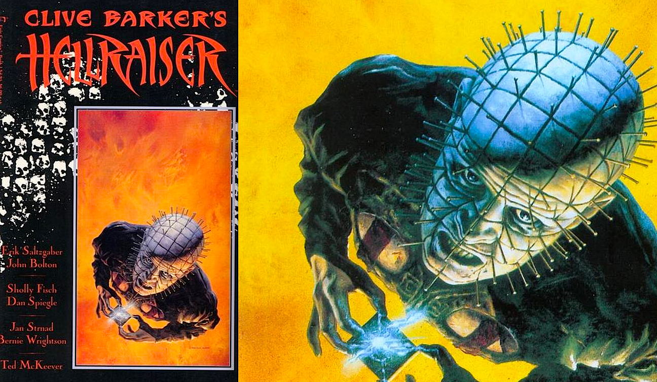 Hellraiser Issue 1 Painted Cover Art