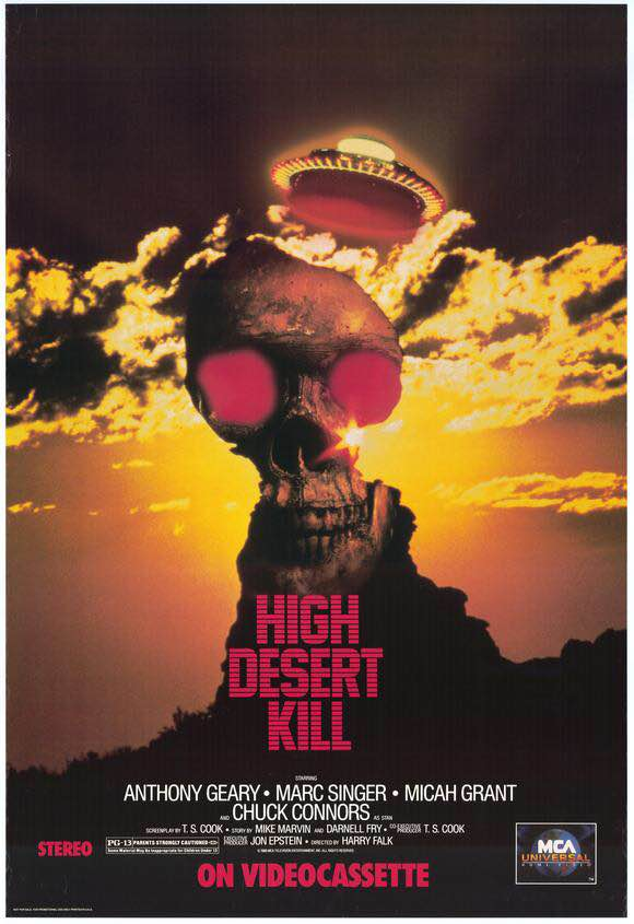 High Desert Kill Poster