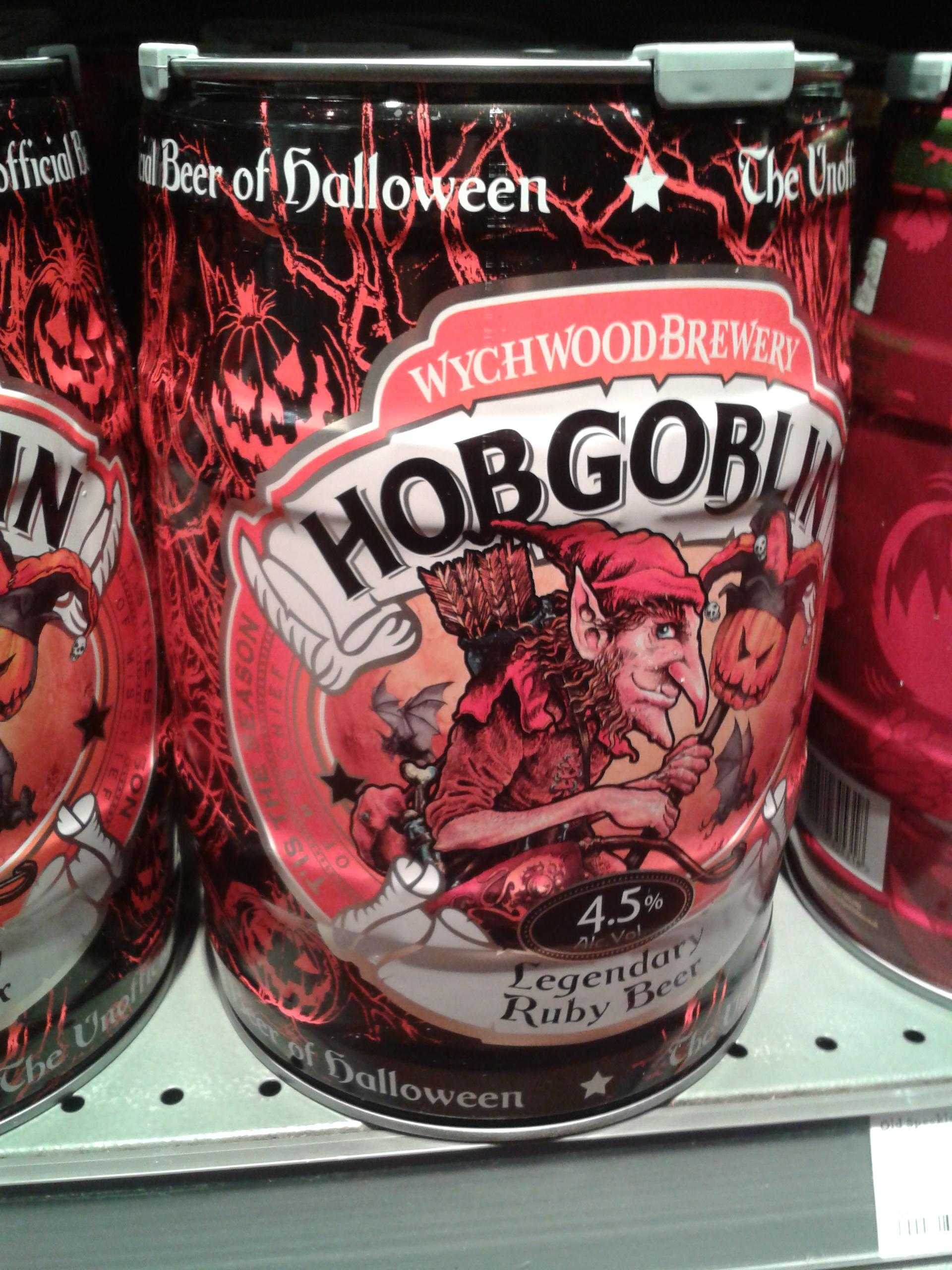 Hobgoblin Ruby Beer - Halloween 2016.