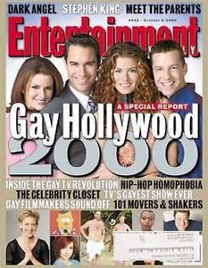 EW Cover - Gay Hollywood