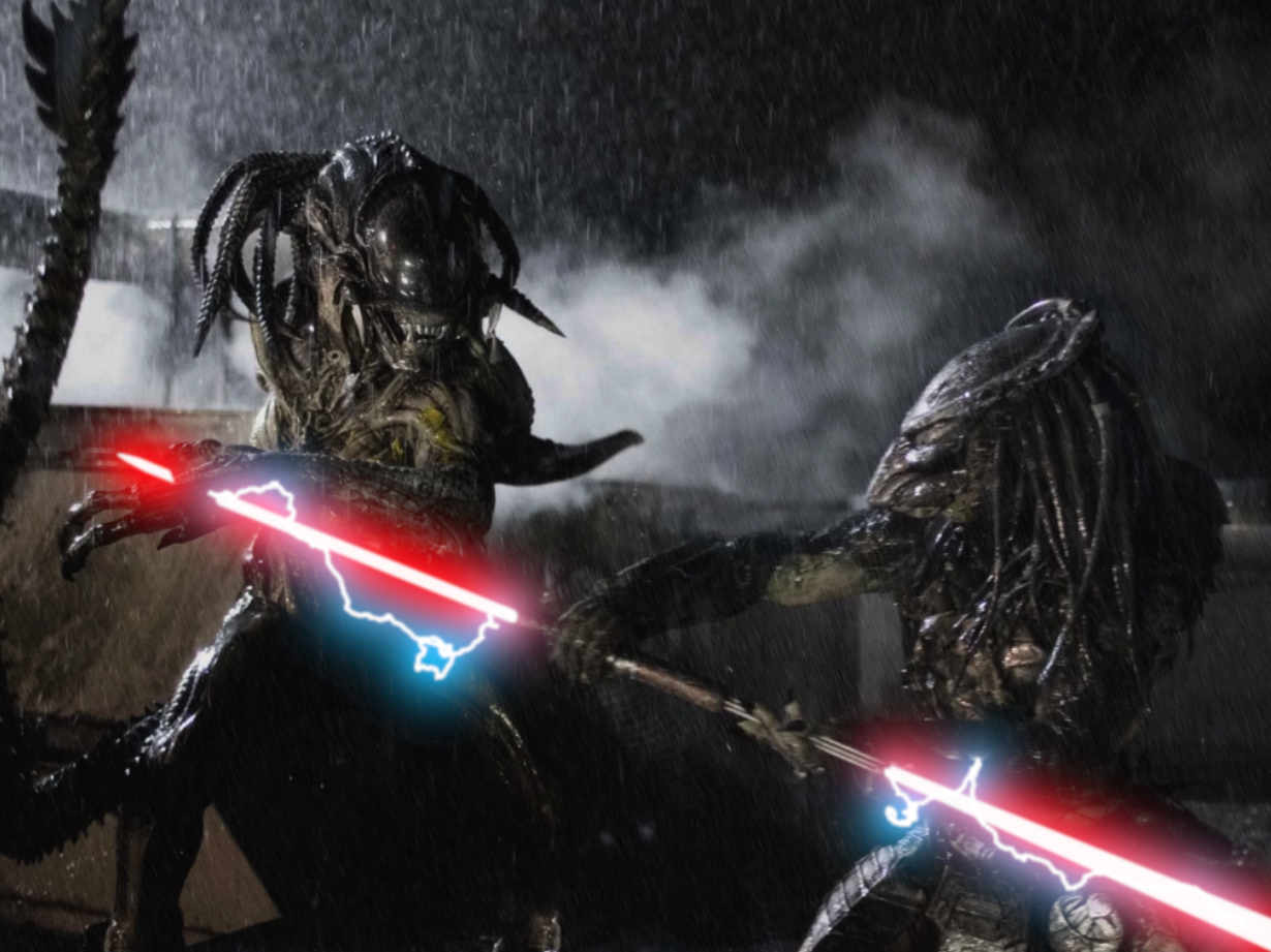 Horror Movies With Lightsabers - AVP 2