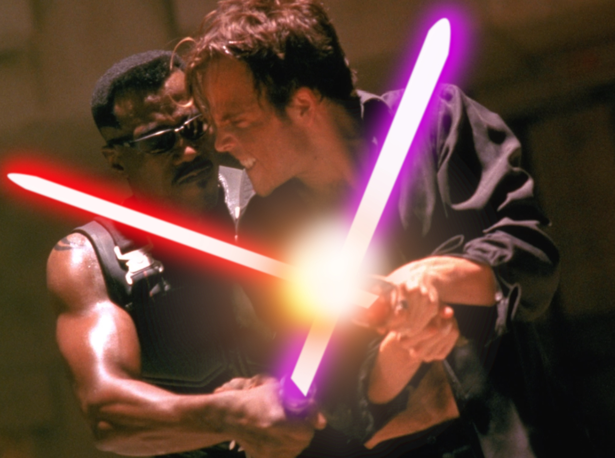 Horror Movies With Lightsabers - Blade