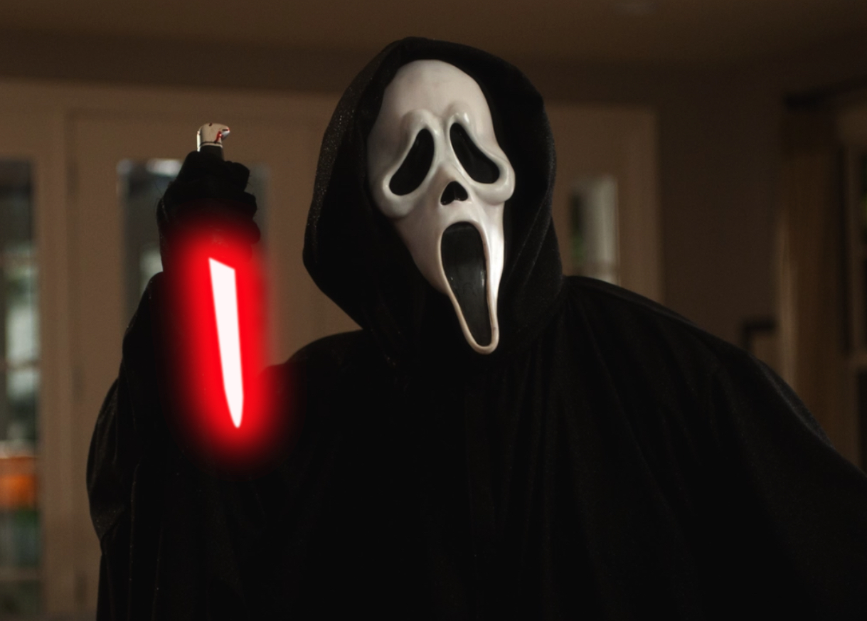 Horror Movies With Lightsabers - Scream