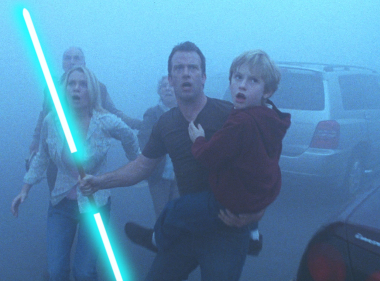 Horror Movies With Lightsabers - The Mist