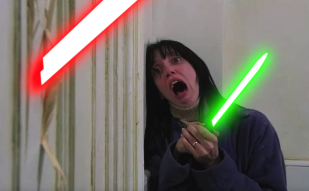 What If - Horror Movies Had Lightsabers - Halloween Love