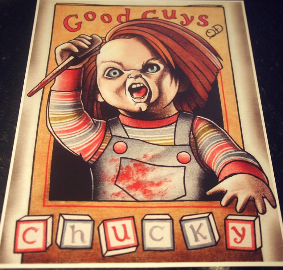 Tattoo Art Chucky