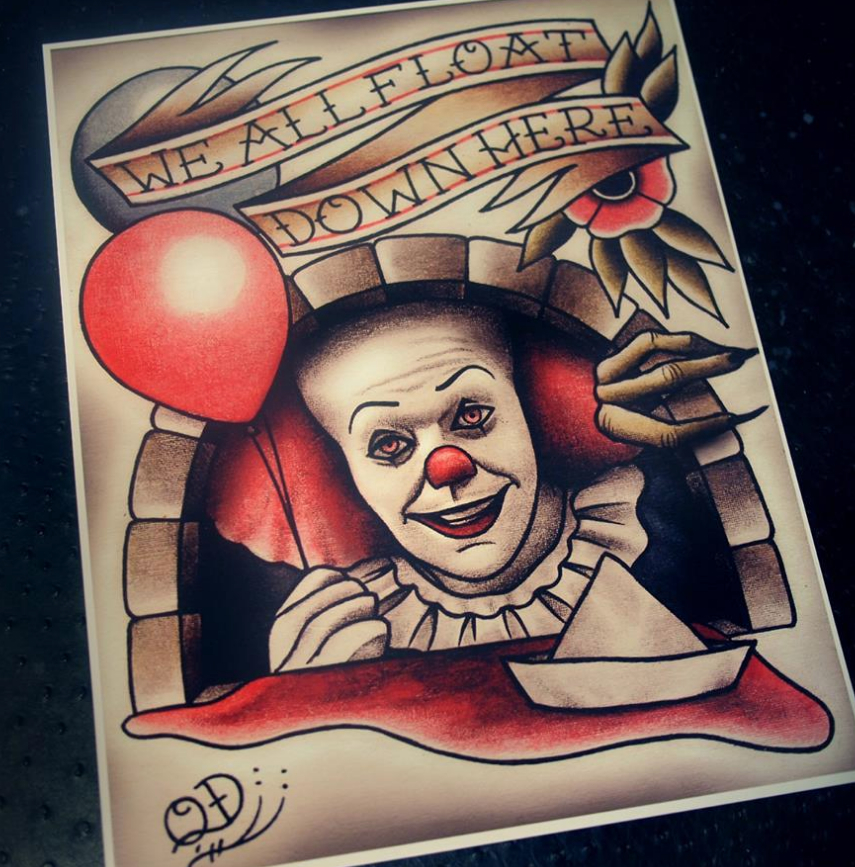 Tattoo Art Pennywise