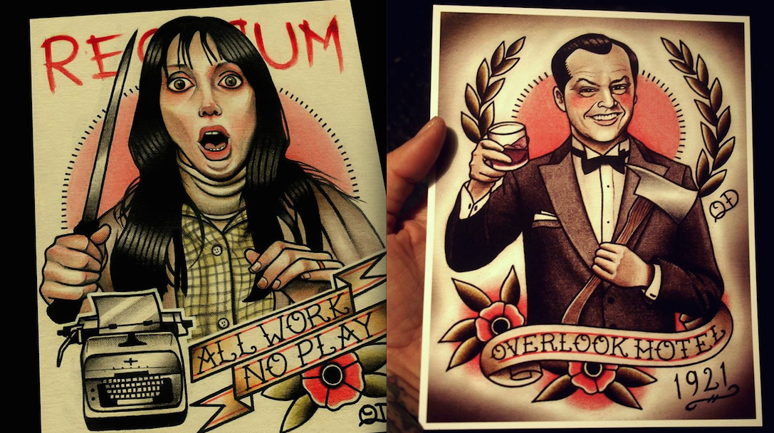 Tattoo Art The Shining