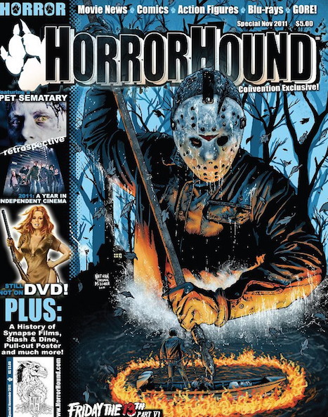 HorrorHound Cover Art