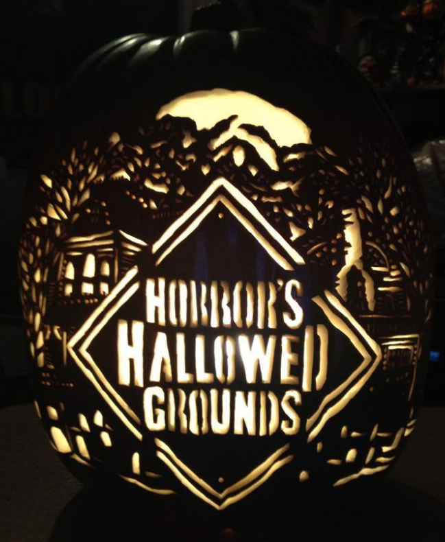 Horror's TV Pumpkin