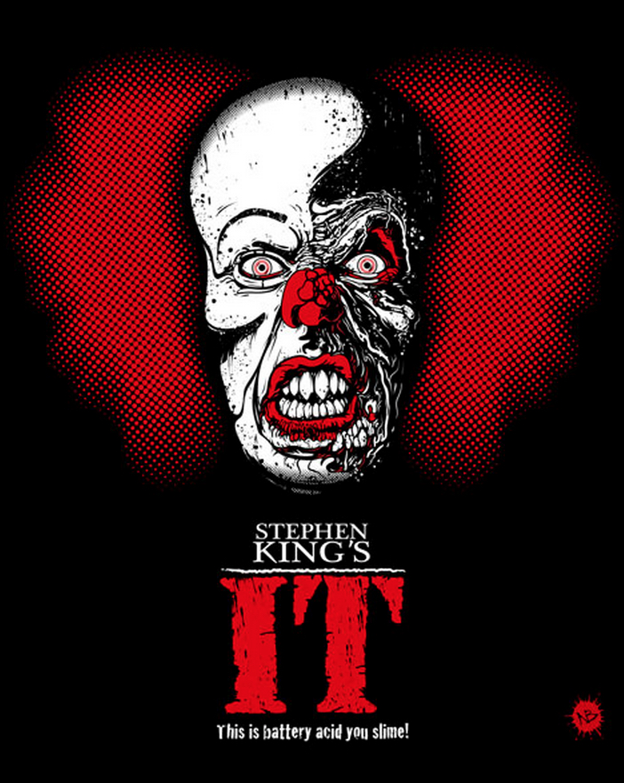 IT At 25 : Beery Method Pennywise Art