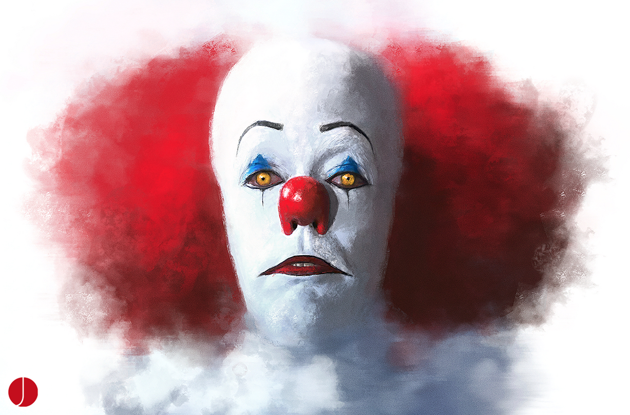 IT At 25 : John Aslarona Pennywise Art