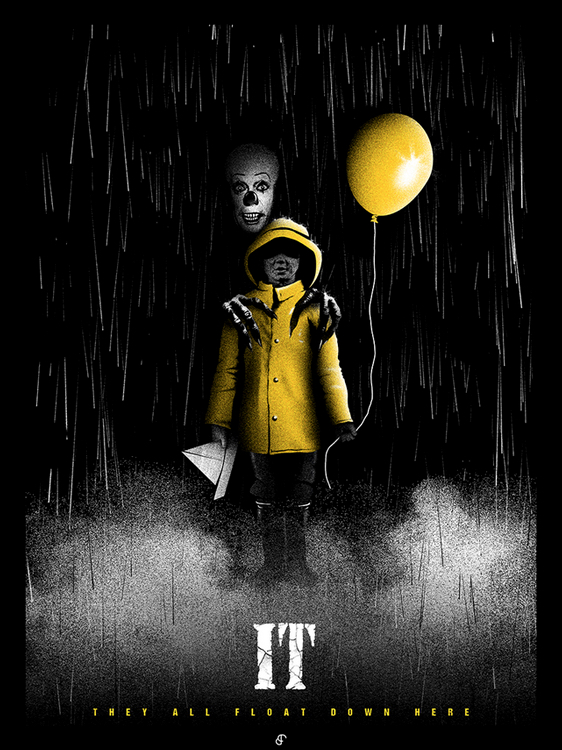 IT At 25 : Patrick Connan Pennywise Art