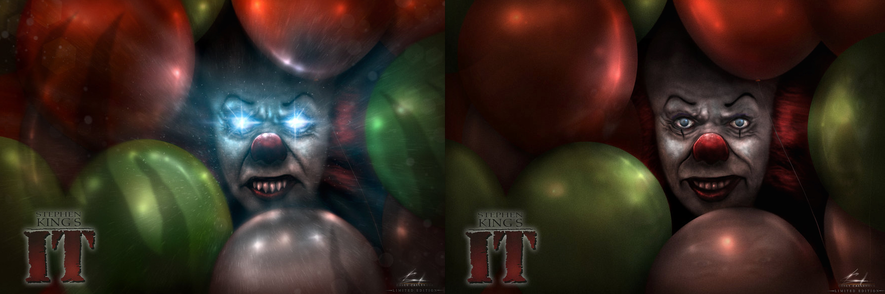 IT At 25 : Casey Callender Pennywise Art