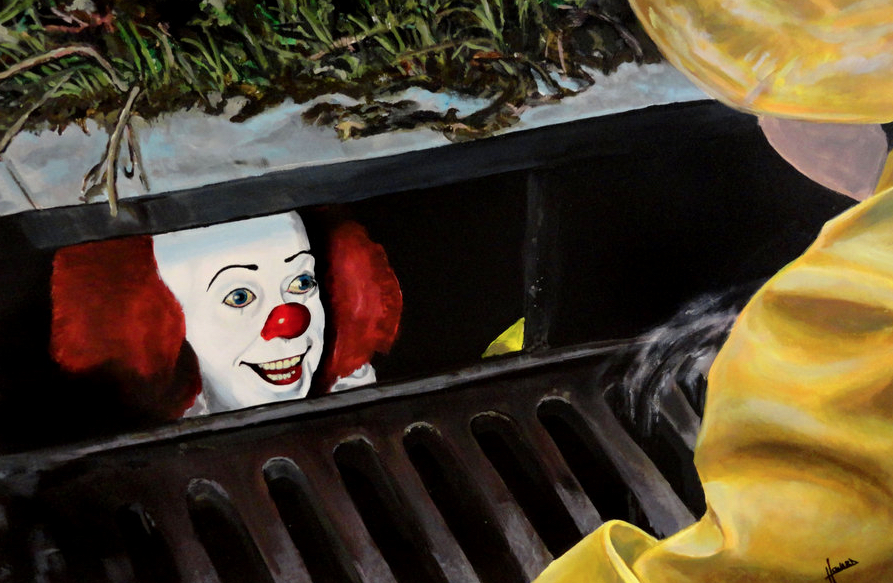 IT At 25 : Lee Howard Pennywise Art