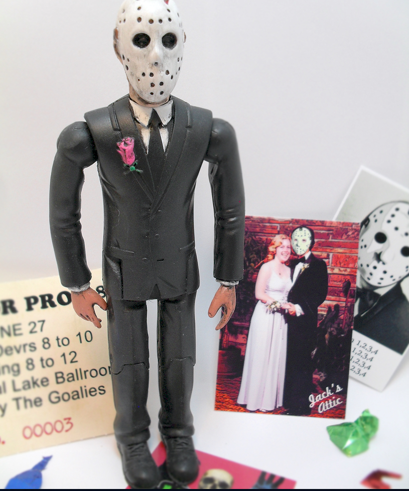 Jack's Attic Jason Prom Figure And Photo