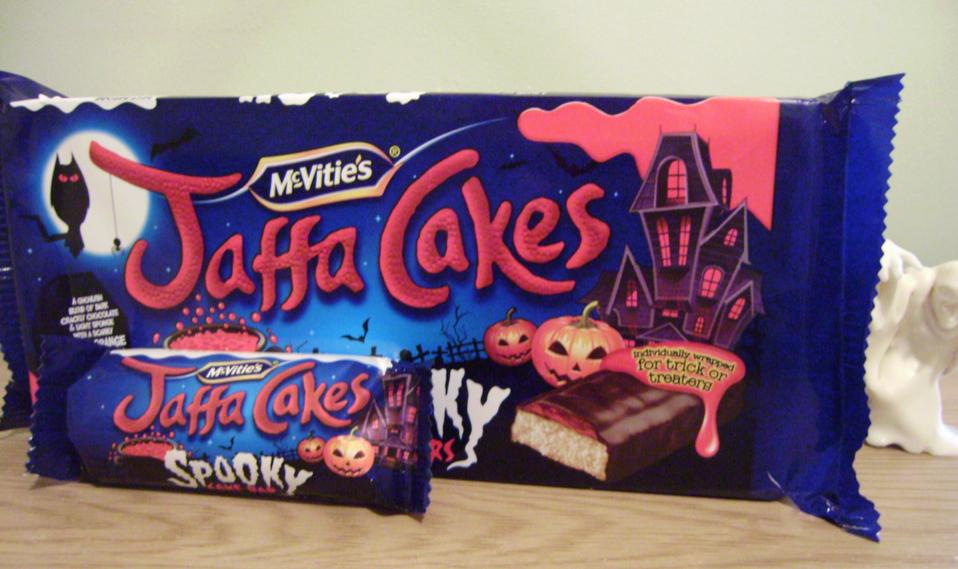 Halloween Jaffa Cakes