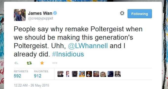 James Wan Poltergeist