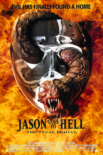 Jason Goes To Hell Poster