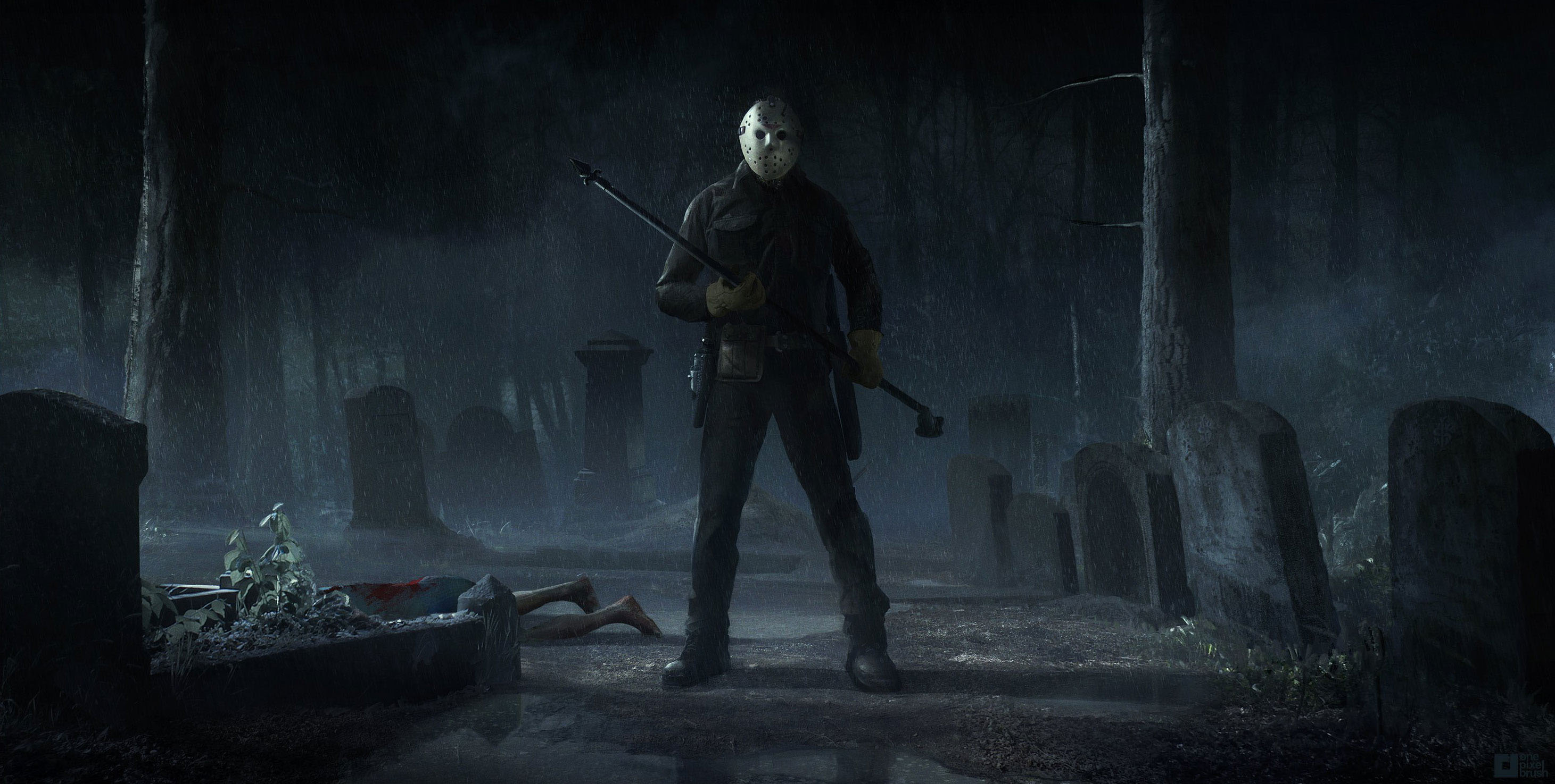 Jason Lives Game Art