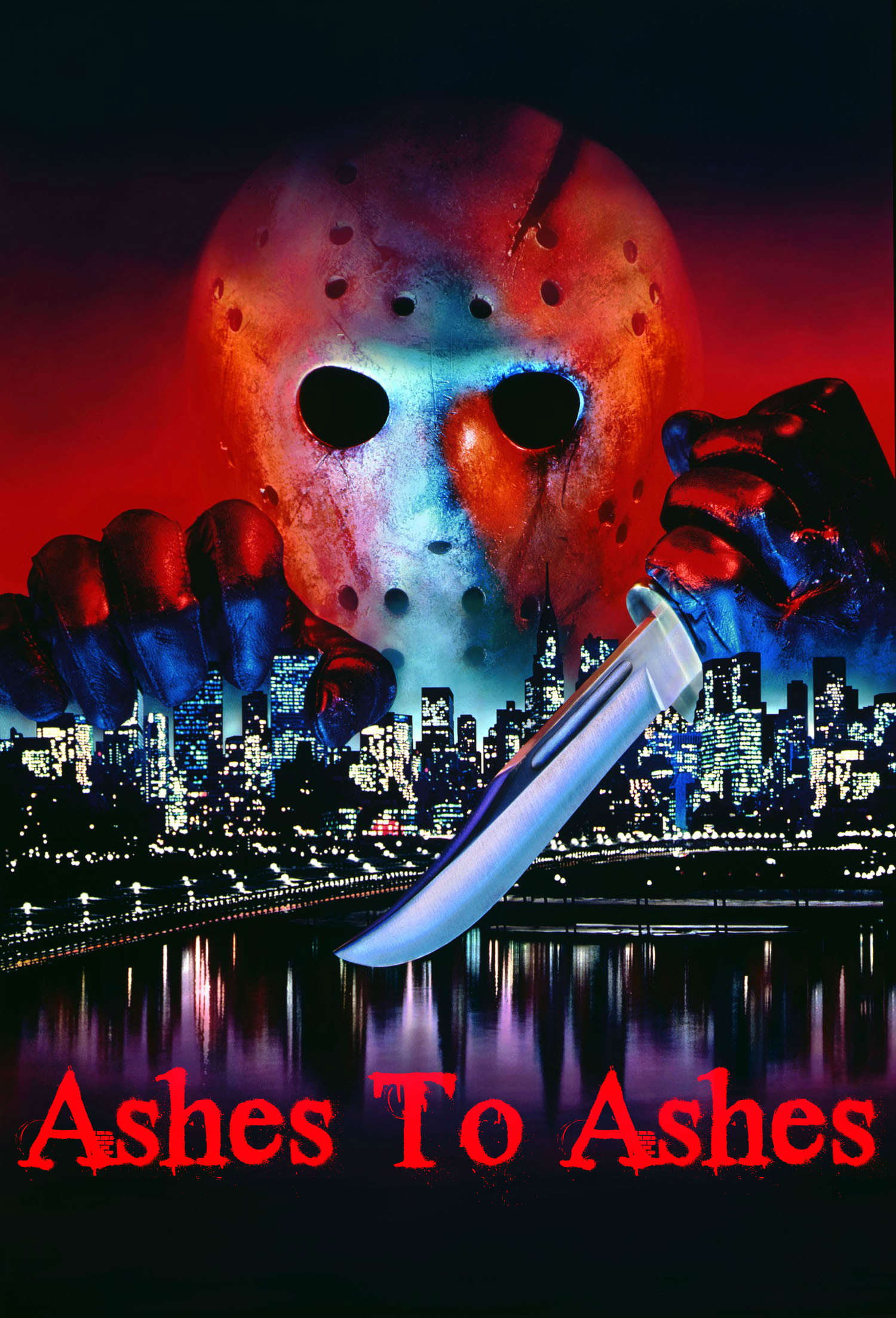 Friday The 13th Trivia - Part 8 Fake Title Poster