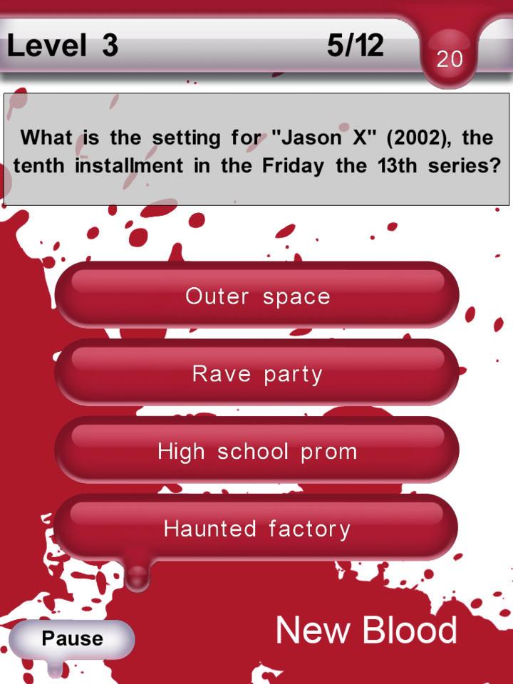 Horror Master Trivia