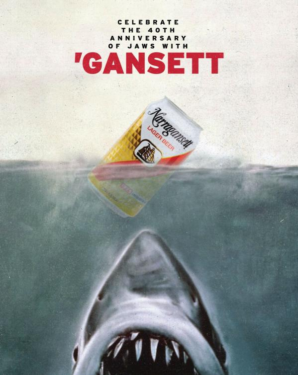 retro Jaws beer