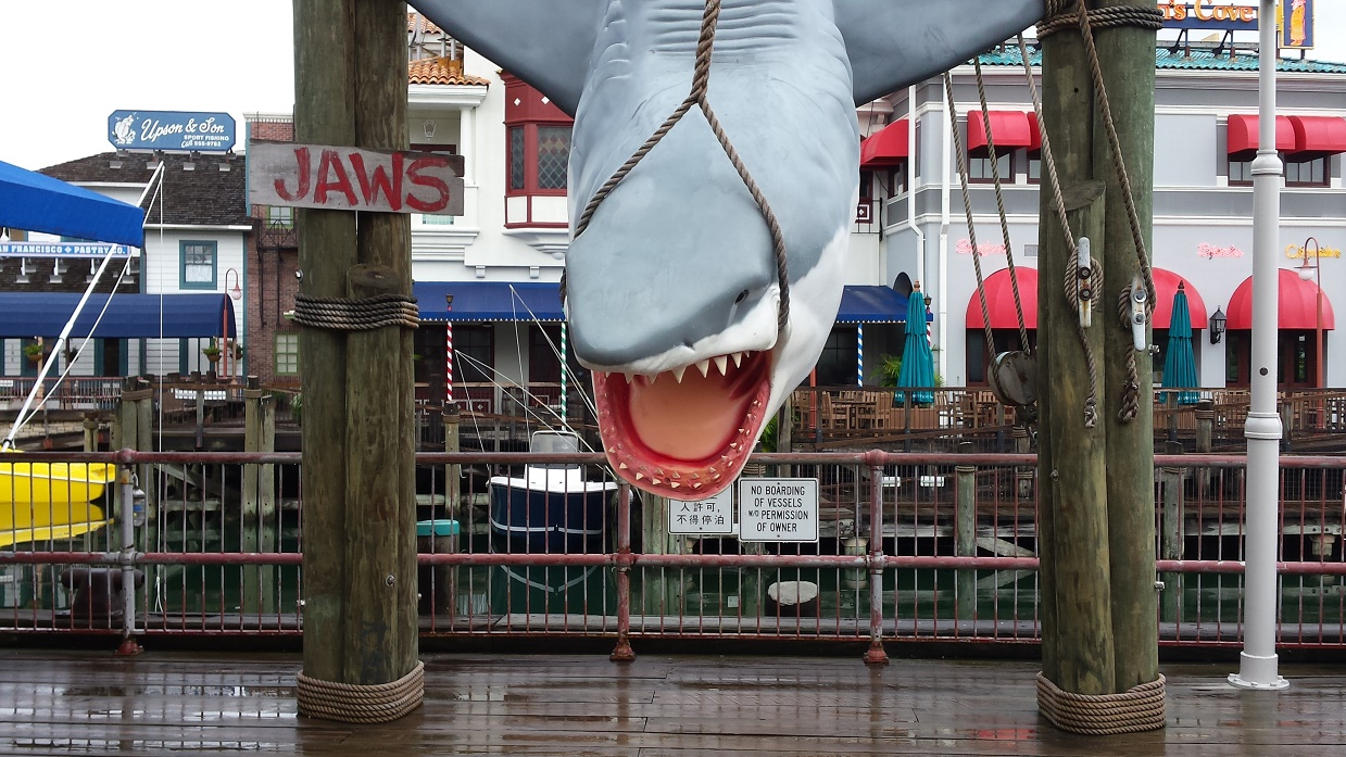 Universal Jaws Ride