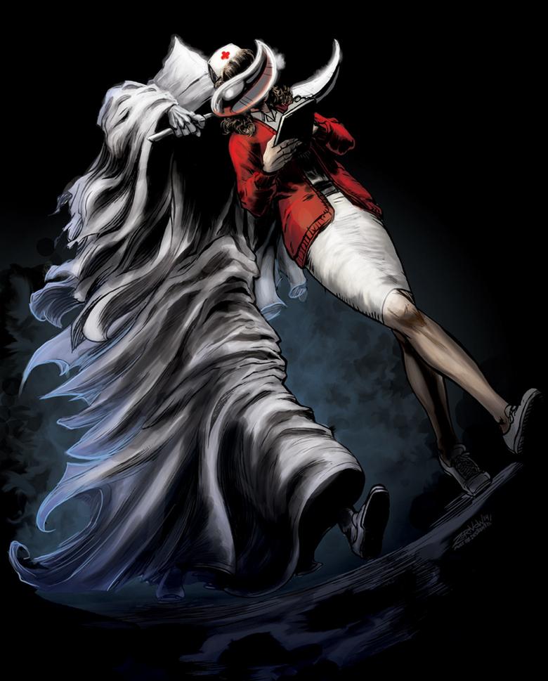 Jeff Zornow Exorcist 3 Art